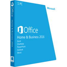 Microsoft Office Home & Business 2016 Box